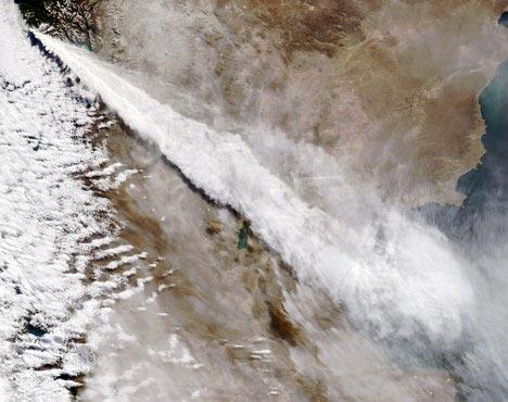 11/11 – L'éruption du volcan Chaiten du 3 mai 2008