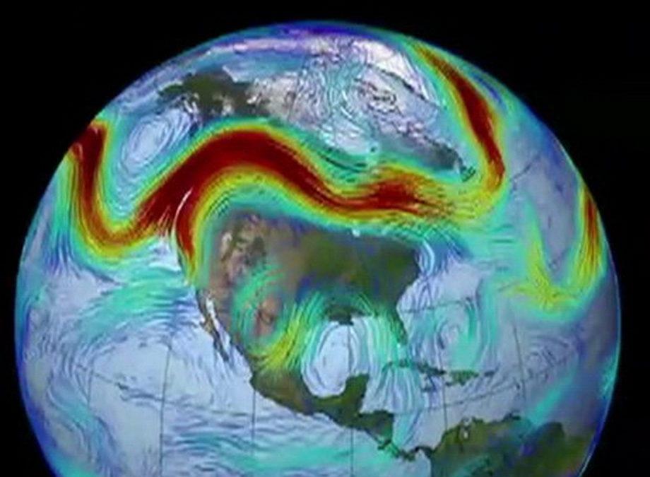 5/12 Les ondulations des jets streams et les dérèglements climatiques.