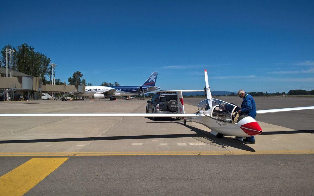 4/11 – The flight from Chile to Bariloche (SAZS)